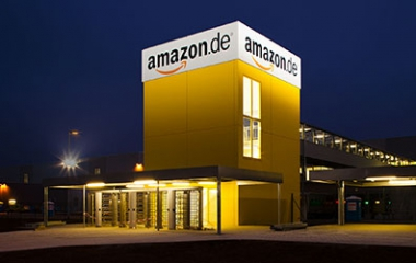 Amazon in Graben
