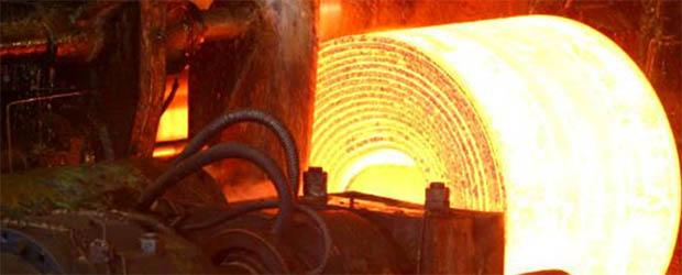 Свечение раскаленного металла в видимом спектре