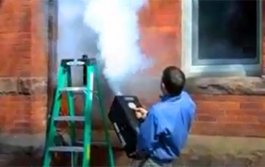 Мощный генератор дыма