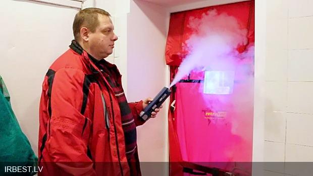 Портативный генератор дыма