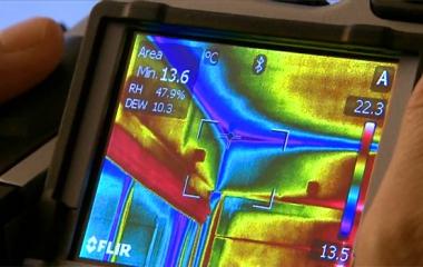 Тепловизор FLIR и точка росы