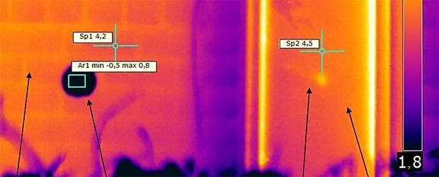 Тепловизионный энергоаудит сооружений