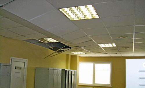 Аэродверь - потолок