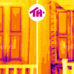 Термограмма с аэродверью