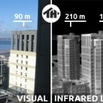 Термограмма здания
