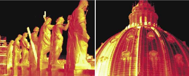 Тепловизор в Ватикане