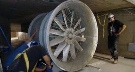 Большие вентиляторы Blower Door