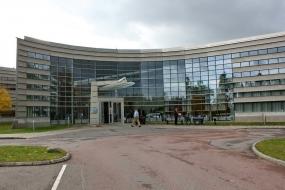 Центральный вход на завод FLIR Systems AB