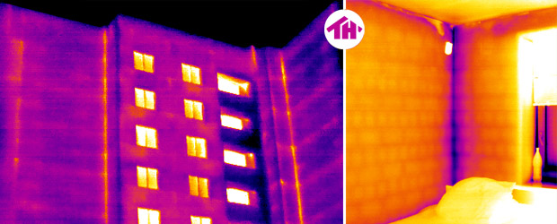 Building Thermography - Corners