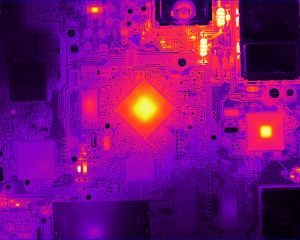 High Definition Temperature Measurement on Electronics Board